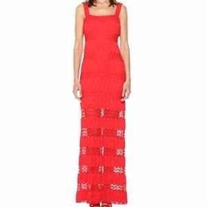 Show Me Your Mumu Red Maxi Dress Size Small